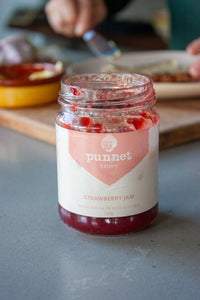 Punnet's strawberry jam