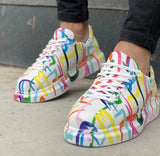 """Step In The Right Direction"" Wanger Sneakers"