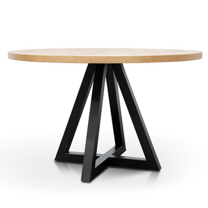 Round Dining Table - Oak