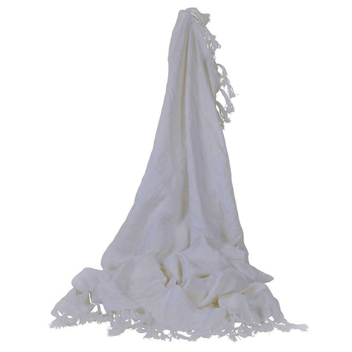 Camargue Throw White