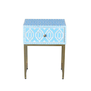 Chelsea Side Table Blue-Find It Style It Home