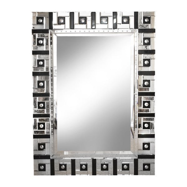 Squares Mirror 60% off very slight marks on corner panels.-Find It Style It Home