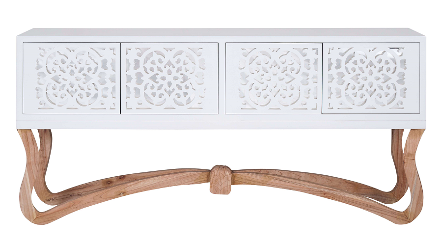 Sienna Ornamental 4 Door Console