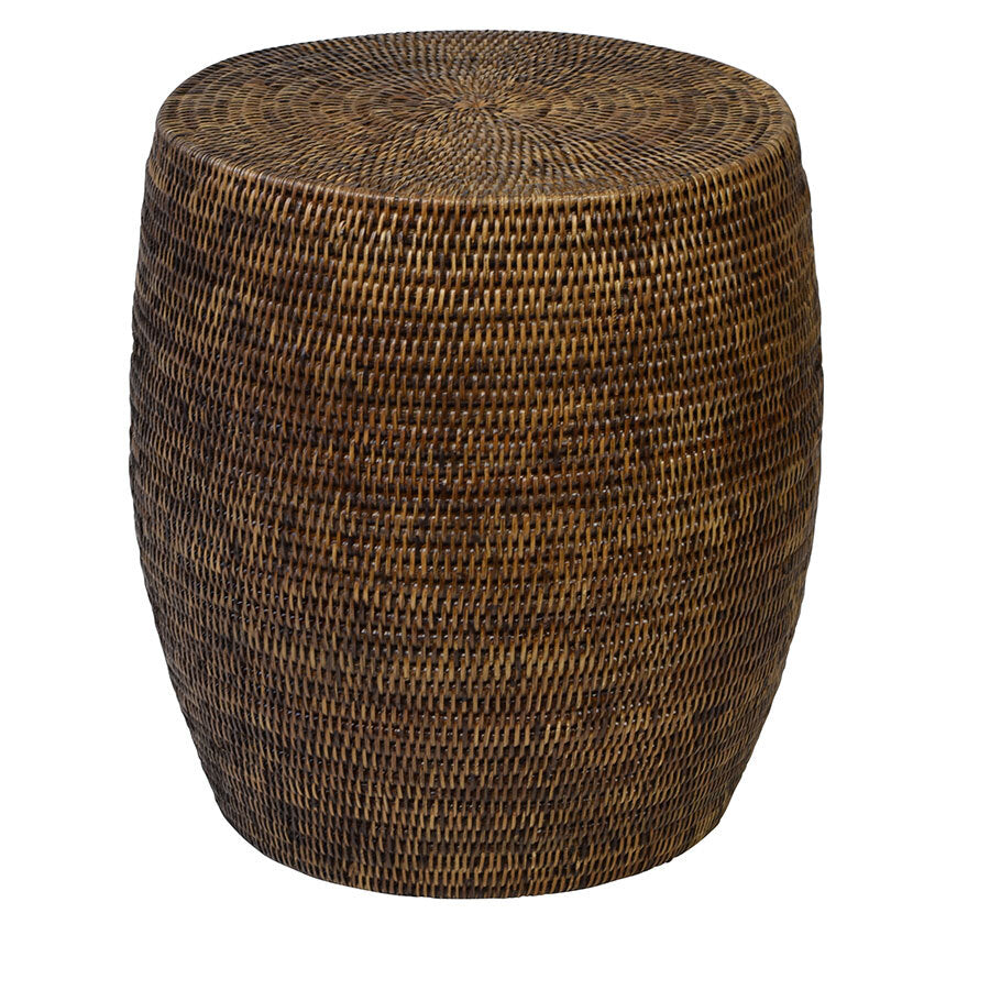 Plantation Drum/Side Table