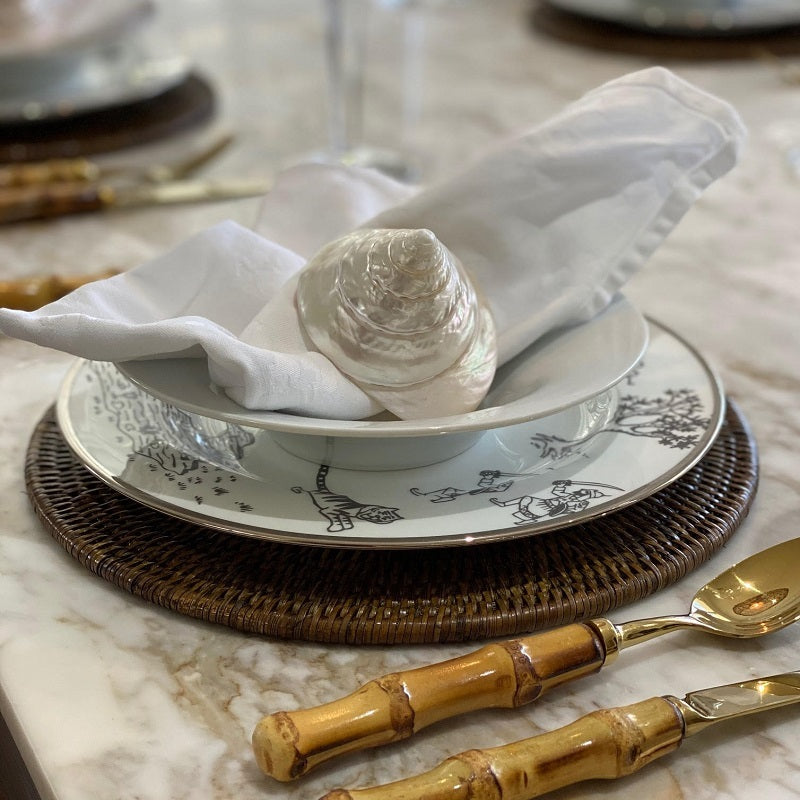 Plantation Place Setting Round x 6