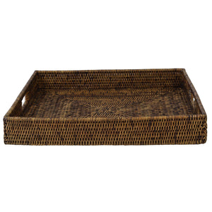 Plantation Tray Square Large-Find It Style It Home