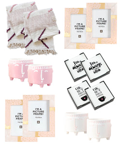 Home Decor Bundle -Mothers Day Pack Blush