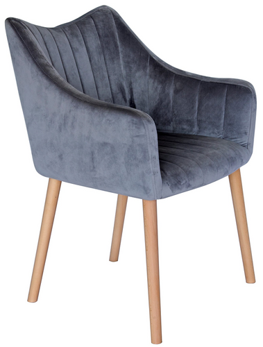 Bermuda Dining Chair - Grey