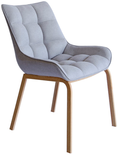 Burswood Dining Chair - Grey