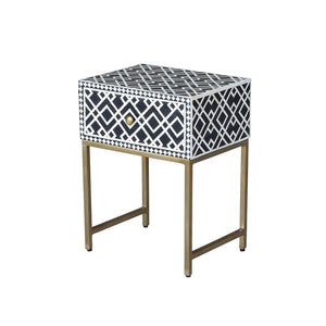 Anika Side Table Black-Find It Style It Home