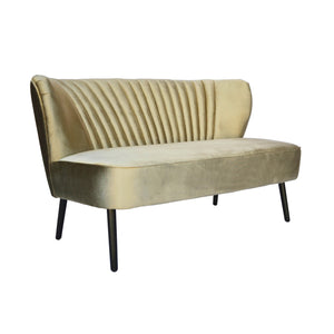 Vintage Gold Coco 2 Seater-Find It Style It Home
