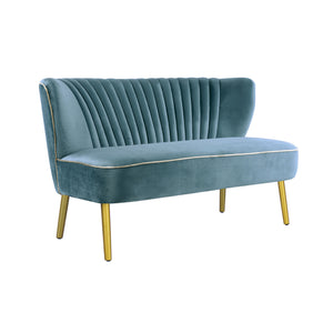Steel Blue Coco 2 Seater-Find It Style It Home