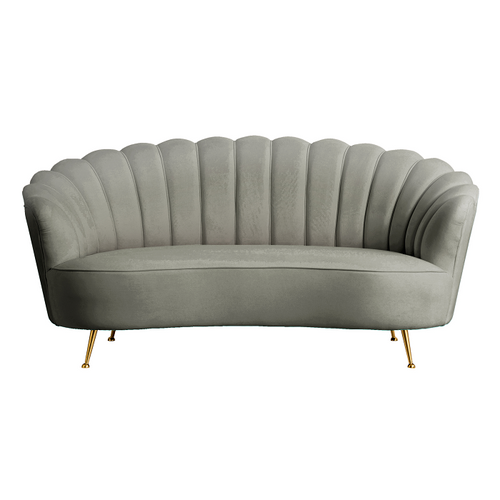 Charcoal Shell 2 Seater Sofa