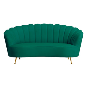 Green - Shell 2 Seater Sofa