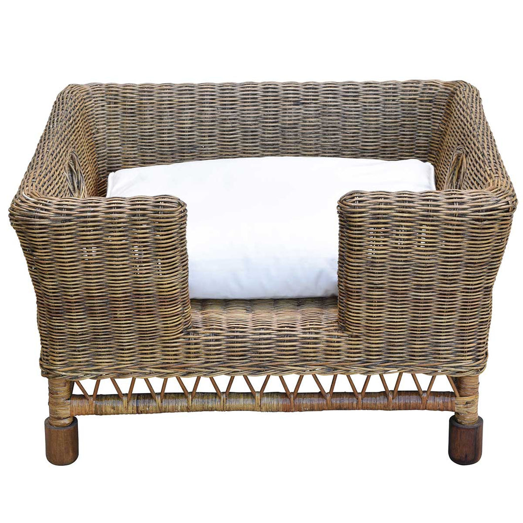 Plantation Dog Basket