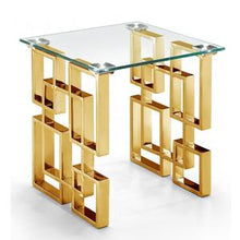 Royal Glass Side table-Find It Style It Home