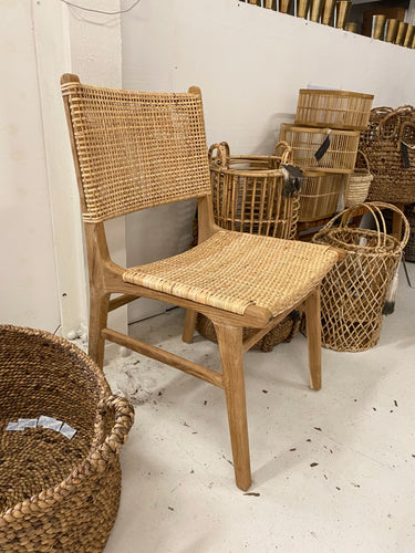 Nalani Woven Statement Dining Chair