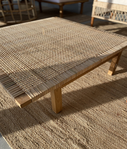 The Indiana Rattan Coffee Table