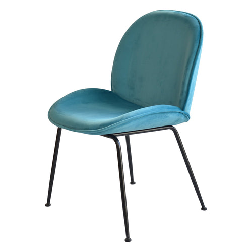 Capri Dining Chair - Turquoise