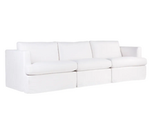 Lincoln Slip Cover Modular Sofa - White Linen Option 3-Find It Style It Home