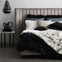 Lulu Bed - Queen in Charcoal-Find It Style It Home