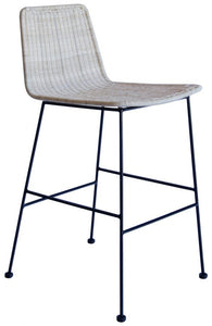 Park Rattan Stool - Natural-Find It Style It Home