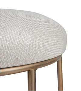 Palmer Kitchen Stool - Natural Linen-Find It Style It Home