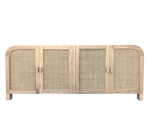 Palm Springs Rattan & Elwood Buffet - Natural-Find It Style It Home