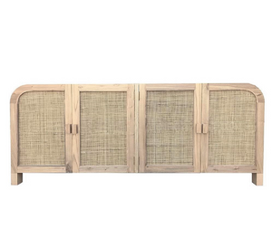 Palm Springs Rattan & Elwood Buffet - Natural
