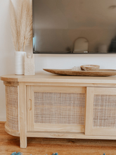 The Rounded Seville Rattan TV Entertainment Cabinet