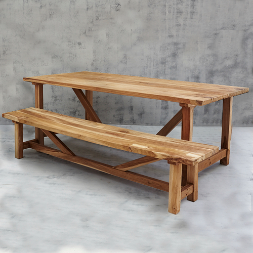 Sefer Rustic Table - Large 2.2 meters-Find It Style It Home