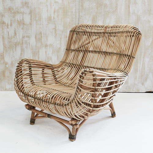Bayu Oversized Rattan Armchair-Find It Style It Home