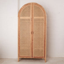 Navah Rattan & Teak Wardrobe-Find It Style It Home
