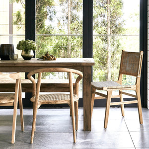 Ridha Recycled Teak Dining Table - 2m-Find It Style It Home