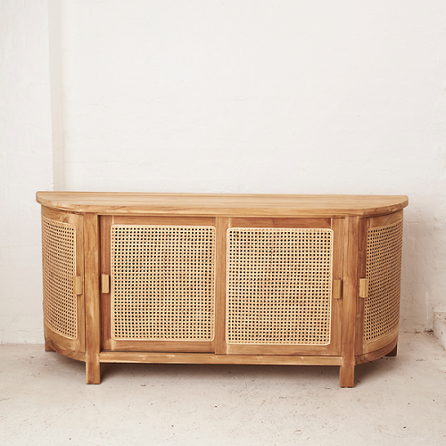 Altair Rattan Curved Sideboard/Console