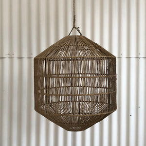 Azin Jute Octagonal Light Shade Natural