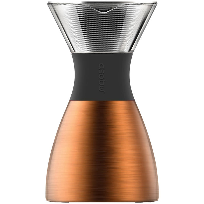 Pour Over Insulated Coffee Maker (Copper/Black)