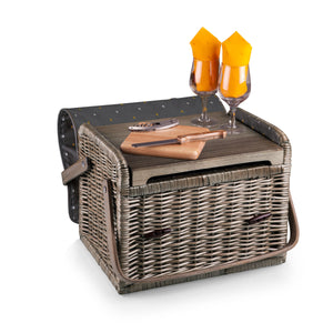 KABRIO WINE AND CHEESE BASKET - Rosemary & Wines
