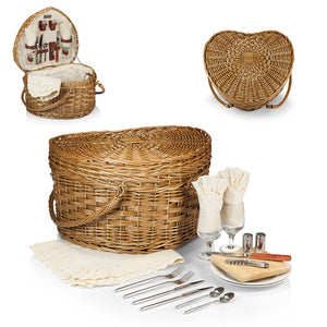HEART PICNIC BASKET