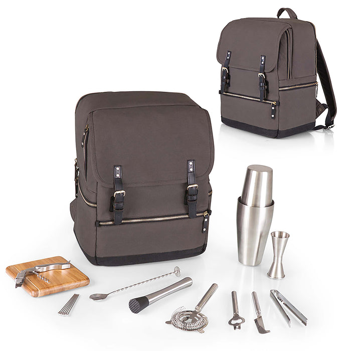 BAR-BACKPACK – GREY/BLACK