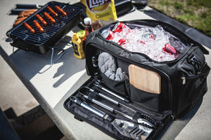 BBQ KIT & COOLER All-In-One - Rosemary & Wines
