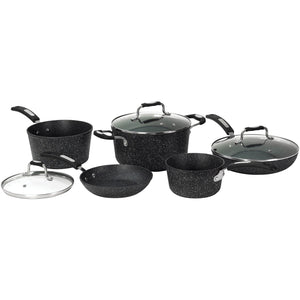 8-Piece Cookware Set with Bakelite Handles - Rosemary & Wines