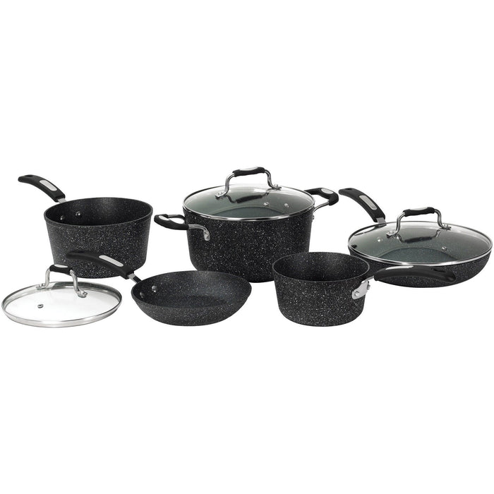 8-Piece Cookware Set with Bakelite Handles