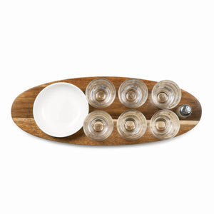 Viva Tequila Shot Serving Tray - Rosemary & Wines
