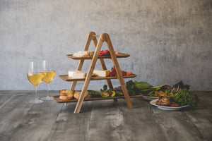 SERVING LADDER 3 TIERED SERVING CHEESE BOARD - Rosemary & Wines