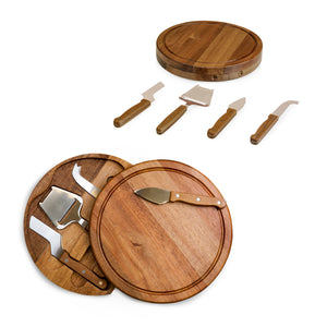 ACACIA CHEESE BOARD SET - Rosemary & Wines