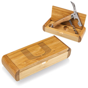 NCAA CORKSCREW & BAMBOO CASE - Rosemary & Wines