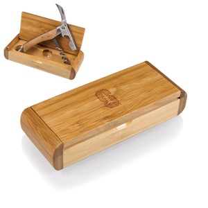 THE ELAN - NCAA CORKSCREW & BAMBOO CASE Rosemary & Wines