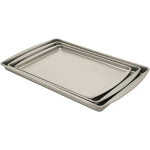 Aluminum Cookie Sheets, 3 pk - Rosemary & Wines