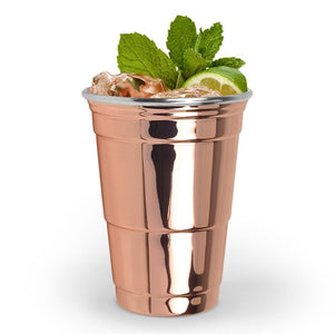 Copper Party Cup Rosemary & Wines